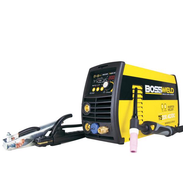 Bossweld TS-200 AC/DC Tig/stick Inverter Welder
