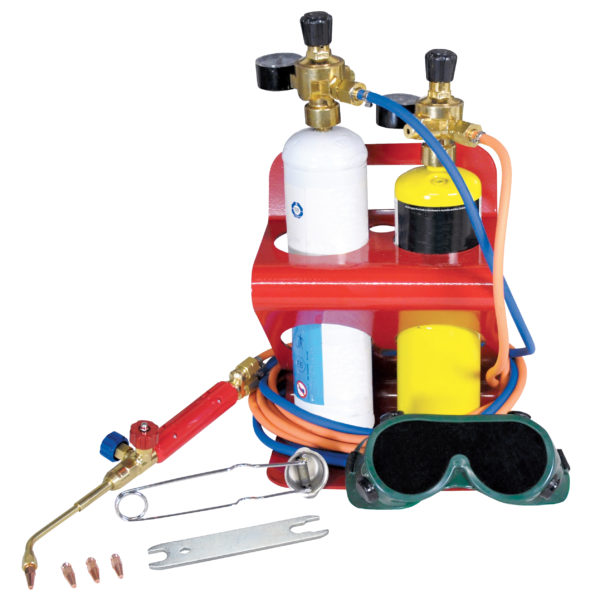 Bossweld Brazen 3000 Oxy Mapp Heating and Brazing Kit