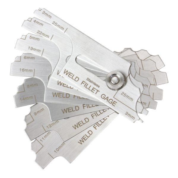 Bossweld Metric Fillet Welding Gauge
